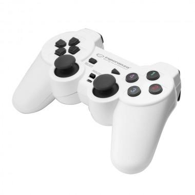 """Gamepad PC USB Esperanza """"Warrior"""" biało/czarny"""