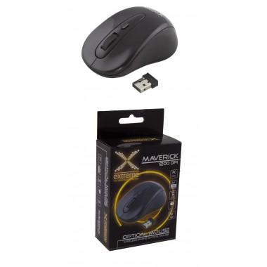Mysz bezprzewodowa Extreme 3D MAVERICK optyczna 2,4GHz czarna
