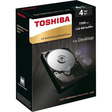 """Dysk Toshiba X300 HDWE140EZSTA 3,5"""" 4TB SATA 7200 128MB"""