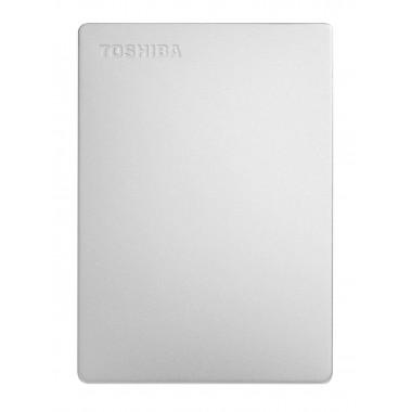 Dysk zewnętrzny Toshiba Canvio Slim 2TB, USB 3.0, silver