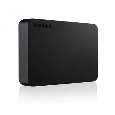 Dysk zewnętrzny Toshiba Canvio Basics 4TB, USB 3.0, black