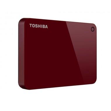 Dysk zewnętrzny Toshiba Canvio Advance 4TB, USB 3.2, red