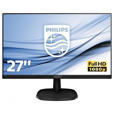 """Monitor Philips 27"""" 273V7QJAB/00 VGA HDMI DP"""