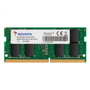 Pamięć DDR4 SODIMM ADATA Premier 8GB (1x8GB) 3200MHz CL22 1,2V Single
