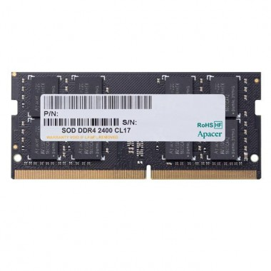 Pamięć SODIMM DDR4 Apacer 8GB (1x8GB) 2400MHz CL17 1,2V