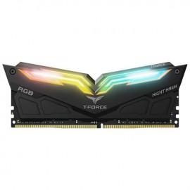 Pamięć DDR4 Team Group Night Hawk RGB 16GB (2x8GB) 3000MHz CL16 1,35V Black
