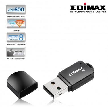 Karta sieciowa Edimax EW-7811UTC USB WiFi AC600 Mini