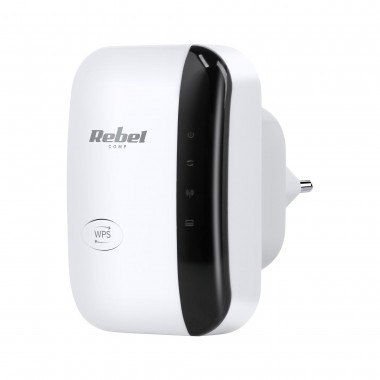 Wzmacniacz WiFi Repeater Rebel KOM1030