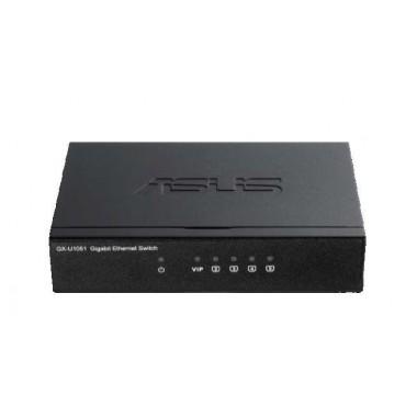 Switch ASUS GX-U1051 5x10/100/1000 Mbps VIP Port