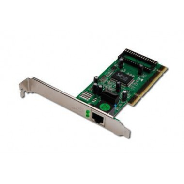 Karta sieciowa Digitus PCI 10/100/1000Mbps Chipset Realtek