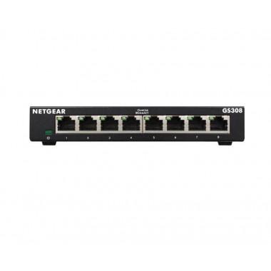 Switch niezarządzalny Netgear GS308 v3 8x 10/100/1000 RJ45