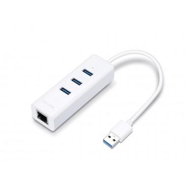 Karta sieciowa TP-Link UE330 USB 3.0  RJ45 1000Mbps Plug&Play