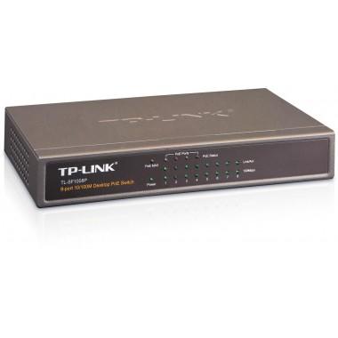 Switch niezarządzalny TP-Link TL-SF1008P 8x10/100, 4xPoE
