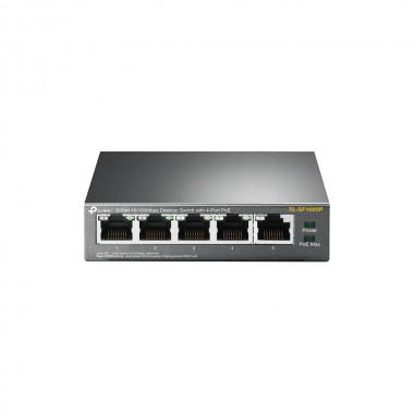 Switch niezarządzalny TP-Link TL-SF1005P 5x10/100 4xPoE 63,5W