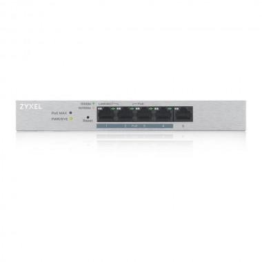 Switch zarządzalny Zyxel GS1200-5HP v2 5x10/100/1000 4xPoE+ RJ45