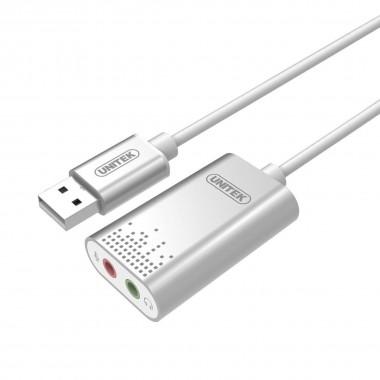 Karta dźwiękowa Unitek Y-247A USB Stereo
