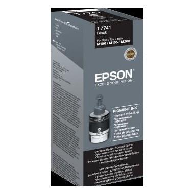 Tusz Epson Black 140 ml (T7741) do WorkForce M100/105/200
