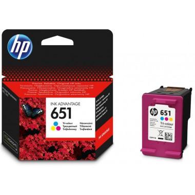 Tusz HP 651 Color