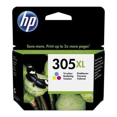 Tusz HP 305XL Tri-color (3YM63AE)