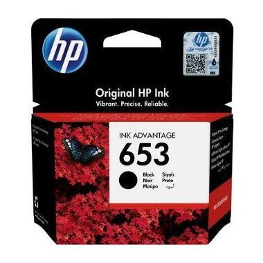 Tusz HP 653 Black (3YM75AE)