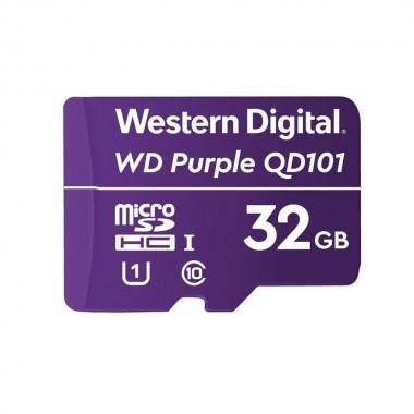 Karta pamięci WD Purple WDD032G1P0C 32GB QD101 Ultra Endurance MicroSDHC UHS-1 Class10