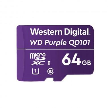 Karta pamięci WD Purple WDD064G1P0C 64GB QD101 Ultra Endurance MicroSDXC UHS-1 Class10