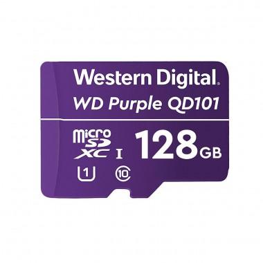 Karta pamięci WD Purple SC QD101 Ultra Endurance 128GB MicroSDXC UHS-1 U1