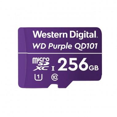 Karta pamięci WD Purple SC QD101 Ultra Endurance 256GB MicroSDXC UHS-1 U1