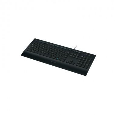 Klawiatura przewodowa Logitech K280e BUSINESS USB OEM czarna