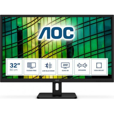 """Monitor AOC 31,5"""" Q32E2N HDMI DP głośniki"""