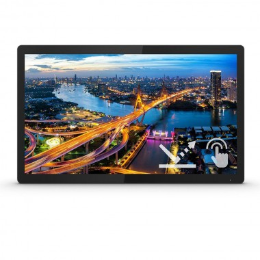 """Monitor Philips 23,8"""" 242B1TFL/00 Touch VGA DVI HDMI DP 3xUSB 3.2 MiniUSB"""