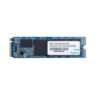 Dysk SSD Apacer AS2280P4 512GB M.2 PCIe Gen3 x4 2280 (2100/1500 MB/s) 3D TLC