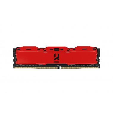 Pamięć DDR4 GOODRAM IRDM X 8GB 3200MHz CL16-20-20 IRDM X 1024x8 Red
