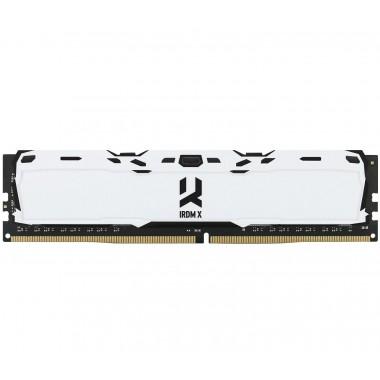 Pamięć DDR4 GOODRAM IRDM X 16GB (2x8GB) 3200MHz CL16-20-20 IRDM 1024x8 White