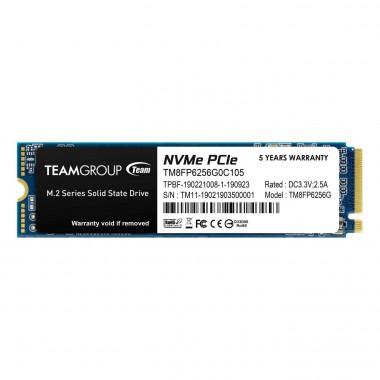 Dysk SSD Team Group MP33 256GB M.2 2280 PCI-e (1600/1000)