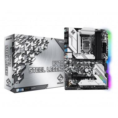 Płyta ASRock H470 Steel Legend/H470/DDR4/SATA3/M.2/USB3.1/PCIe3.0/M.2/s.1200/ATX