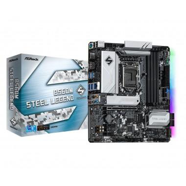 Płyta ASRock B560M Steel Legend /B560/DDR4/SATA3/M.2/USB3.0/PCIe4.0/s.1200/mATX
