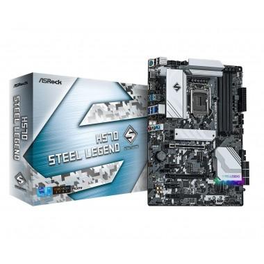 Płyta ASRock H570 Steel Legend /H570/DDR4/SATA3/M.2/USB3.2/PCIe4.0/s.1200/ATX