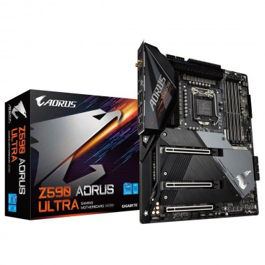 Płyta Gigabyte Z590 AORUS ULTRA (rev. 1.0) /Z590/DDR4/SATA3/M.2/USB3.1/PCIe3.0/s.1200/WIFI/BT/ATX