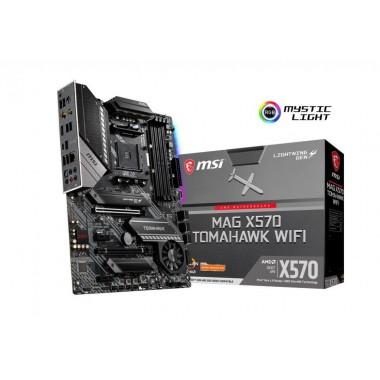 Płyta MSI MAG X570 TOMAHAWK WIFI /AMD X570/DDR4/SATA3/M.2/WiFi/BT/USB3.1/PCIe4.0/AM4/ATX