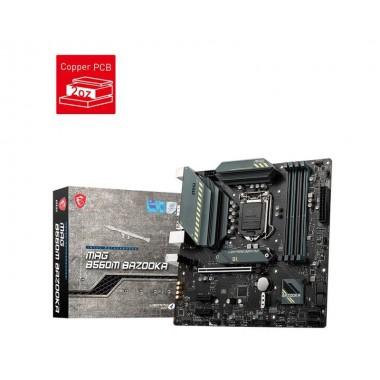 Płyta MSI MAG B560M BAZOOKA /B560/DDR4/SATA3/M.2/USB3.2/PCIe3.0/s.1200/mATX