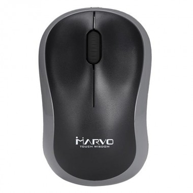 Mysz bezprzewodowa Marvo DWM100GY Biurowa, 1 x AA