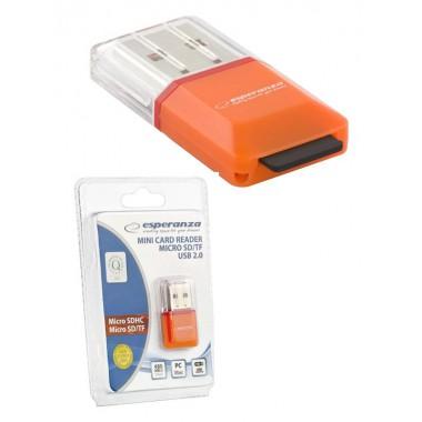 Czytnik kart MicroSD Esperanza EA134O (MicroSD Pen Drive)