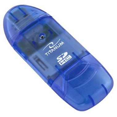 Czytnik kart SDHC/MicroSDHC Titanum TA101B (SDHC Pen Drive)