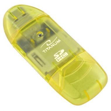 Czytnik kart SDHC/MicroSDHC Titanum TA101G (SDHC Pen Drive)