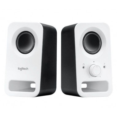 Głośniki Logitech Z150 2.0 3W biało-czarne