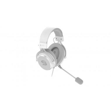 Słuchawki z mikrofonem SPC Gear VIRO Plus USB biały