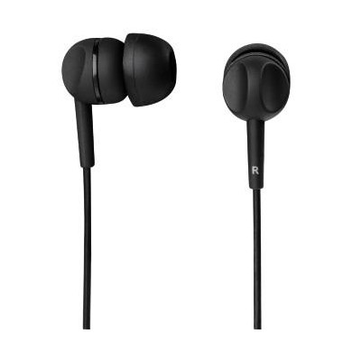 Słuchawki z mikrofonem Thomson EAR3005BK  czarne