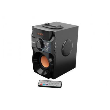 Głośnik bezprzewodowy Bluetooth UGO Soundcube czarny 10W