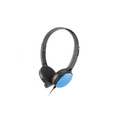 Słuchawki z mikrofonem Ugo USL-1221 niebieskie